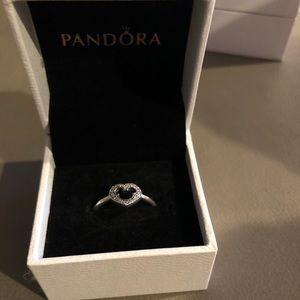 Pandora Mickey ring retired size 58/8.5